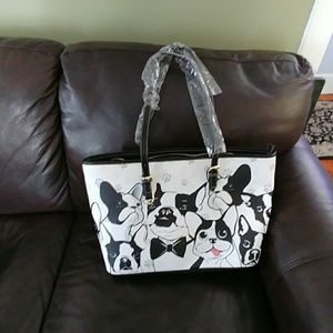 Brand new Boston Terrier purse.